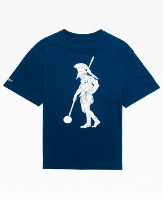 Chrystie Swfc Fnl Warrior T Shirt : Navy Back