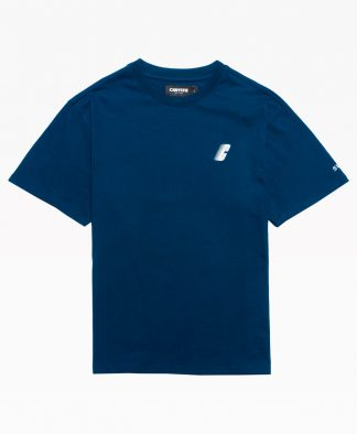 Chrystie Swfc Fnl Warrior T Shirt : Navy Front