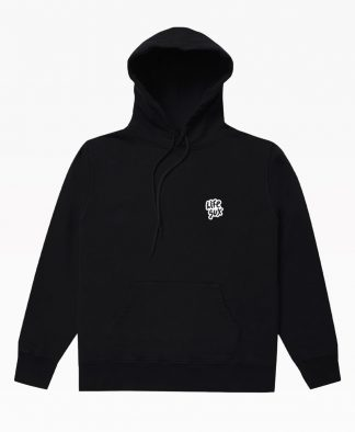 Lifesux Basic Hoodie Black Front