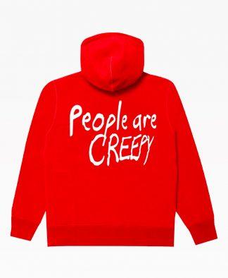Lifesux People Hoodie Red Back