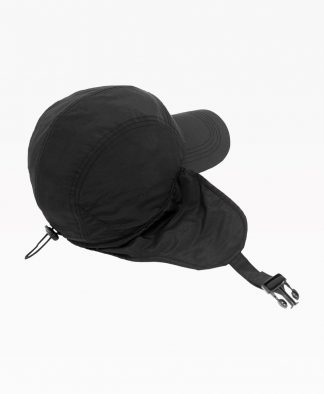 Wasted Casquette Trapeur Noir Back2