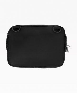 Wasted Chest Bag En Nylon Noir Back