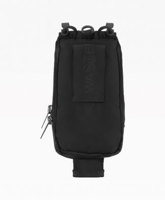 Wasted Pouch Bag Nylon Noir Back