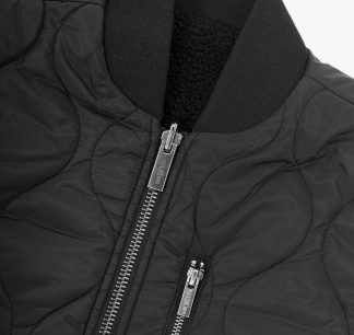 Wasted Veste Mountain Noir Detail