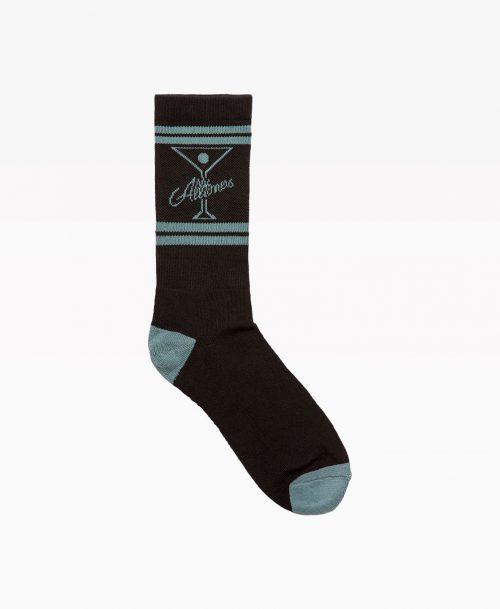 Alltimers Classic Logo Socks Black Front