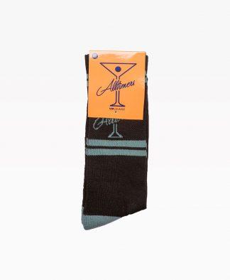 Alltimers Classic Logo Socks Black Front2