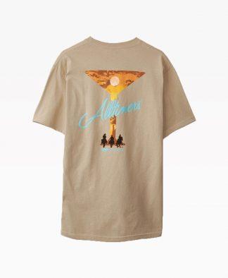 Alltimer 3 Amigos T Shirt Cream Back