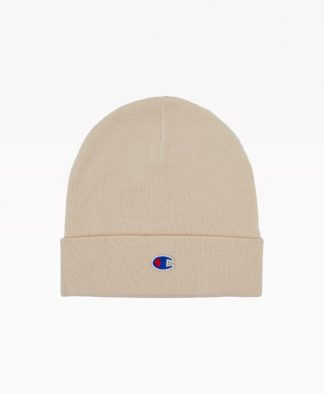Champion Reverse Weave Beanie Sand Front