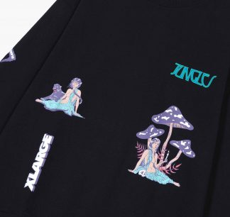 Jungles X Xlarge Relaxed Woman Crewneck Detail