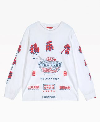Jungles Lucky Noodle Ls Tee Front