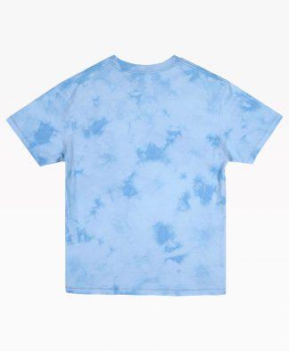 Jungles Mind Cleanser Tie Dye Blue Tee Front