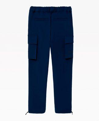 Loreak Mendian Mugi Pants Navy Blue Back