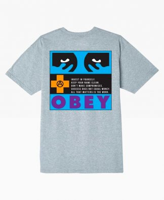 Obey Clothing All That Matters Classic T Shirt Back
