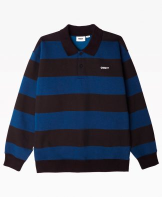 Obey Clothing Ashmore Polo Front