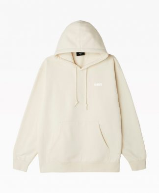 Obey Clothing Chaos And Entropy Hoodie Natural Front