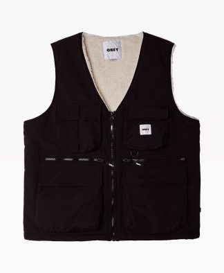 Obey Clothing External Vest Front