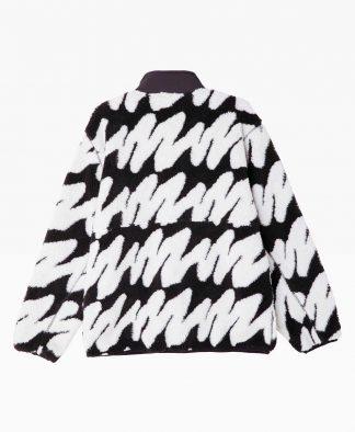 Obey Clothing Hense Sherpa Jacket Back