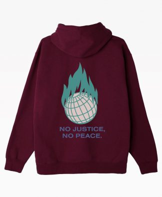 Obey Clothing Resistance Box Fit Pullover Hood Back