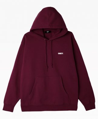 Obey Clothing Resistance Box Fit Pullover Hood Front