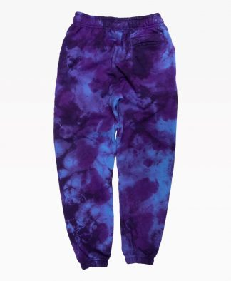 Ripndip Psychedelic Aweatpants Purple Tie Dye Back