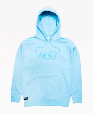 Ripndip The Feat Wave Of Nerm Hoodie Powder Blue Front