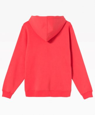 Stussy Copyright Stock Embroidered Hoodie Pale Red Back
