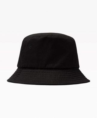 Stussy Stock Bucket Hat Black Back