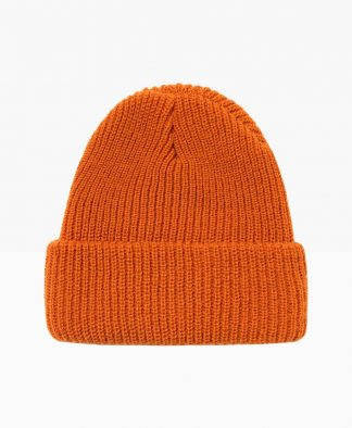 Stussy Stock Cuff Beanie Light Brown Back