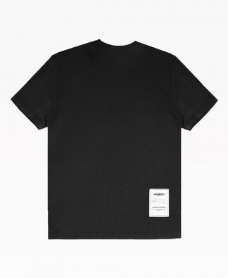 Wasted Essential Tee Black Back