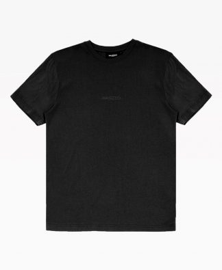 Wasted Essential Tee Black Front