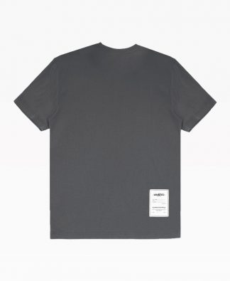 Wasted Essential Tee Grey Back
