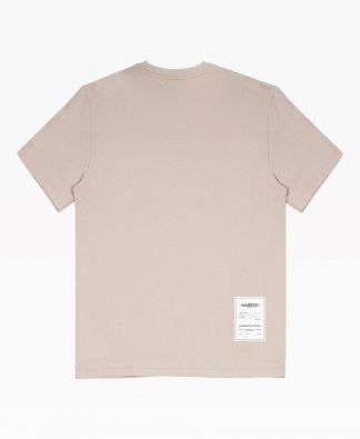 Wasted Essential Tee Sable Back