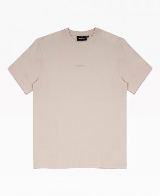 Wasted Essential Tee Sable Front