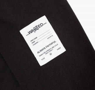 Wasted Signature Ls Tee Black Detail2