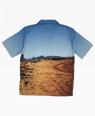 Cat Desert Shirt Back