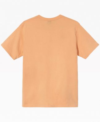 Stussy Dyonisios Tee Peach Front