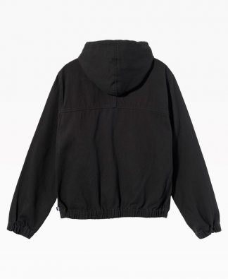 Solid Work Jacket Black
