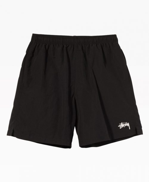 Stussy Stock Water Short Black Front