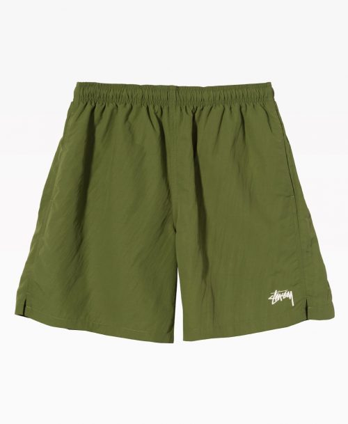 Stussy Stock Water Short Green Front