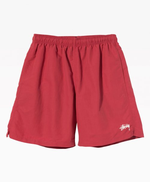 Stussy Stock Water Short Pale Red Front