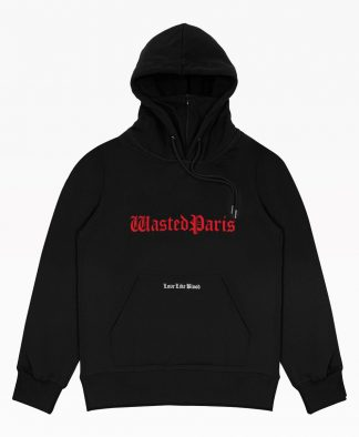 Wasted Love Like Blood Hoodie Black Front