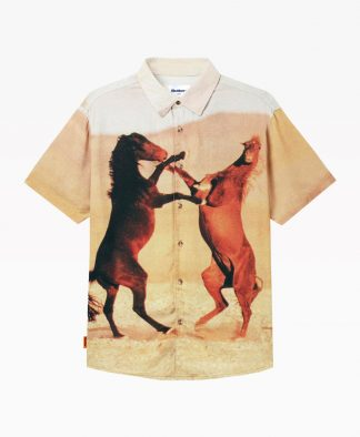 Butter Goods Horses Shirt Front