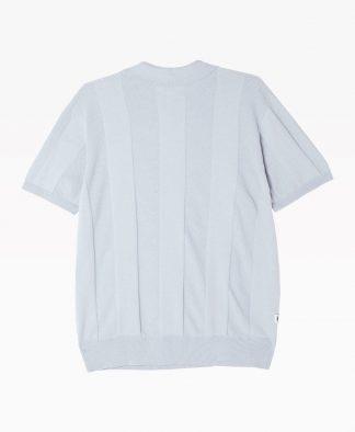 Obey Clothing Alton Organic Sweater Light Blue Back
