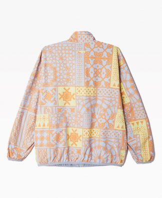 Obey Clothing Patchwork Reversible Jacket Back
