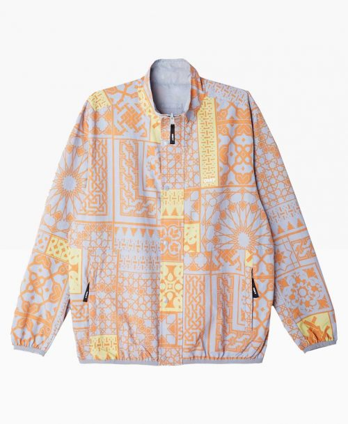Obey Clothing Patchwork Reversible Jacket Front