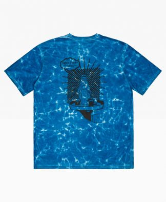 Pas De Mer Aguasanta Tie Dye Tee Blue Back