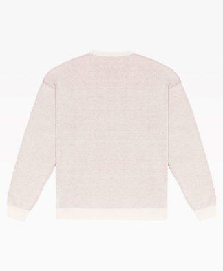 Pas De Mer High Couture Knit Natural Back