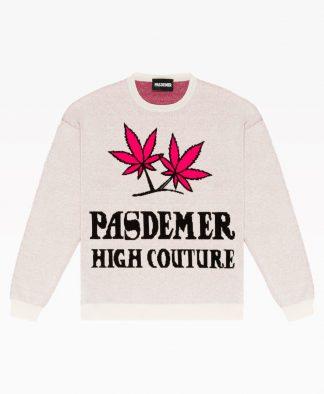 Pas De Mer High Couture Knit Natural Front