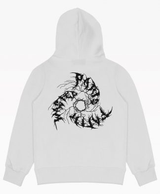 Wasted Faithless Hoodie White Back