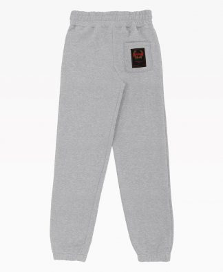 Wasted Jogging Essential Heather Grey Back